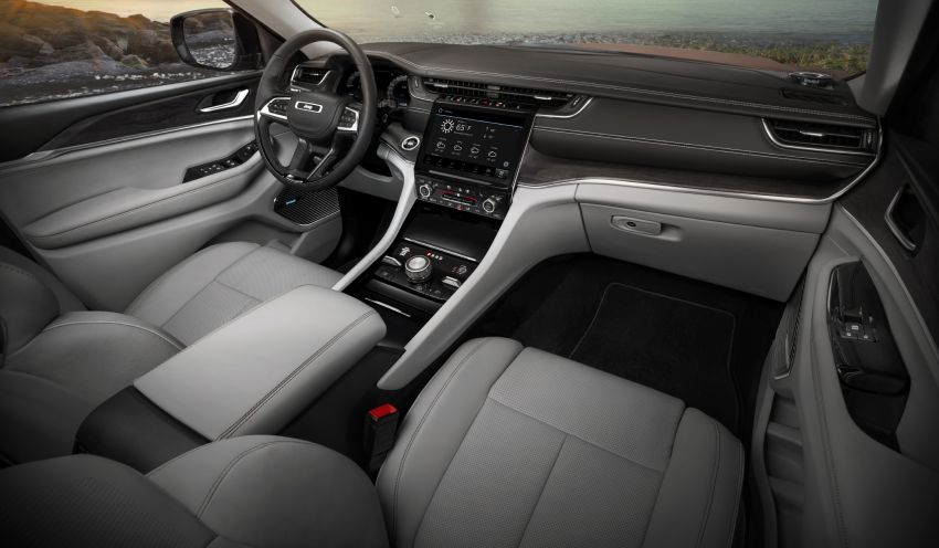 Fifth-generation Jeep Grand Cherokee – L version brings three rows of seats; 4xe PHEV due end 2021 Image #1232607