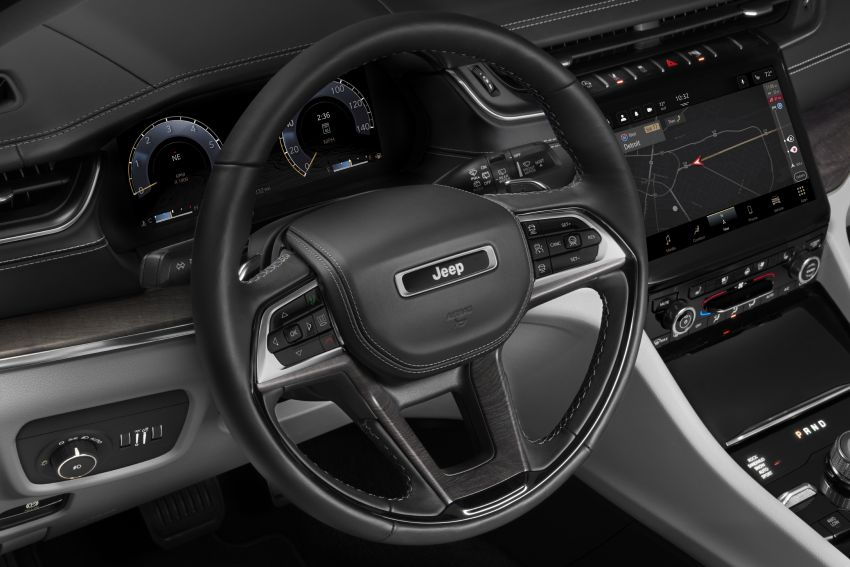 Fifth-generation Jeep Grand Cherokee – L version brings three rows of seats; 4xe PHEV due end 2021 Image #1232609