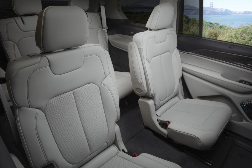 Fifth-generation Jeep Grand Cherokee – L version brings three rows of seats; 4xe PHEV due end 2021 Image #1232623