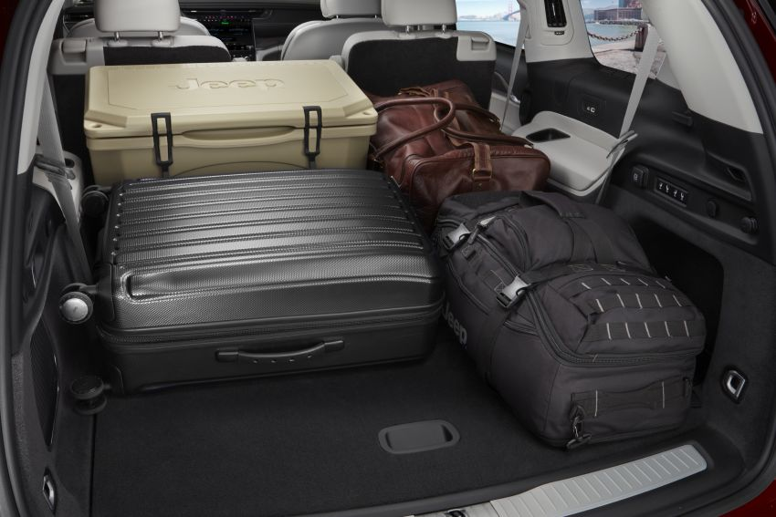 Fifth-generation Jeep Grand Cherokee – L version brings three rows of seats; 4xe PHEV due end 2021 Image #1232627