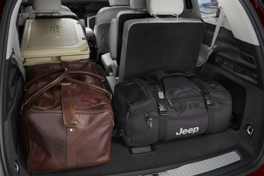 Fifth-generation Jeep Grand Cherokee – L version brings three rows of seats; 4xe PHEV due end 2021 Image #1232628