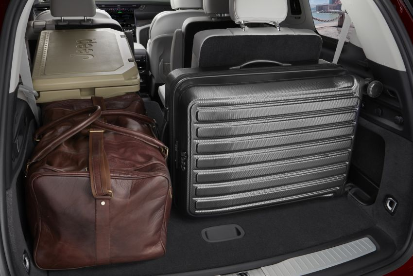 Fifth-generation Jeep Grand Cherokee – L version brings three rows of seats; 4xe PHEV due end 2021 Image #1232630