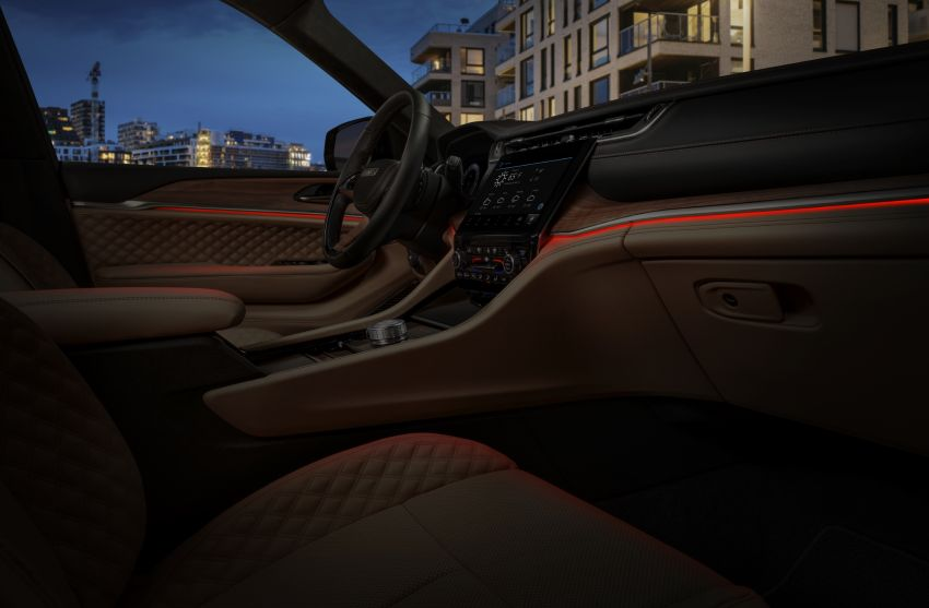 Fifth-generation Jeep Grand Cherokee – L version brings three rows of seats; 4xe PHEV due end 2021 Image #1232633