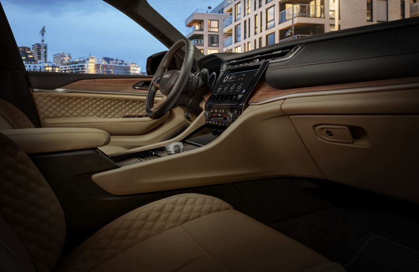 Fifth-generation Jeep Grand Cherokee – L version brings three rows of seats; 4xe PHEV due end 2021 Image #1232634