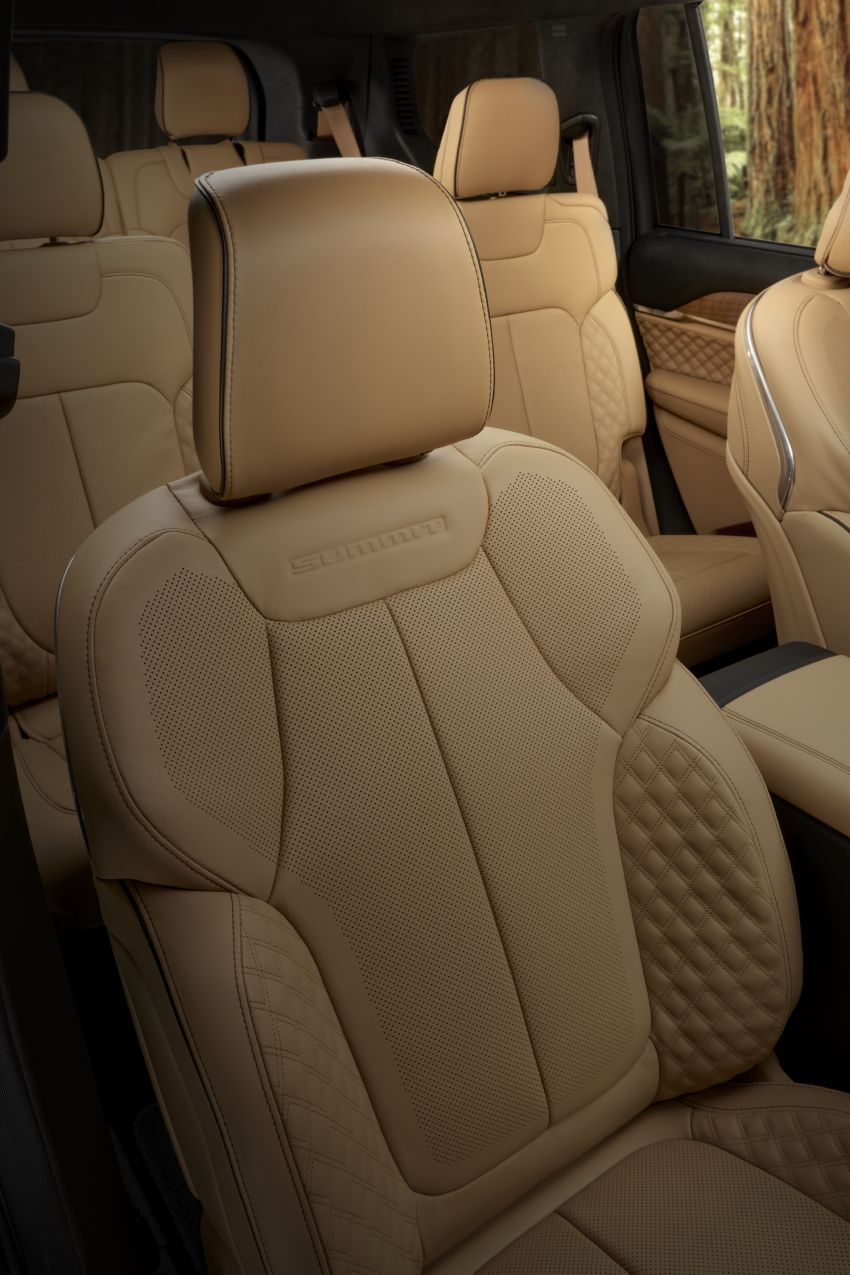 Fifth-generation Jeep Grand Cherokee – L version brings three rows of seats; 4xe PHEV due end 2021 Image #1232638