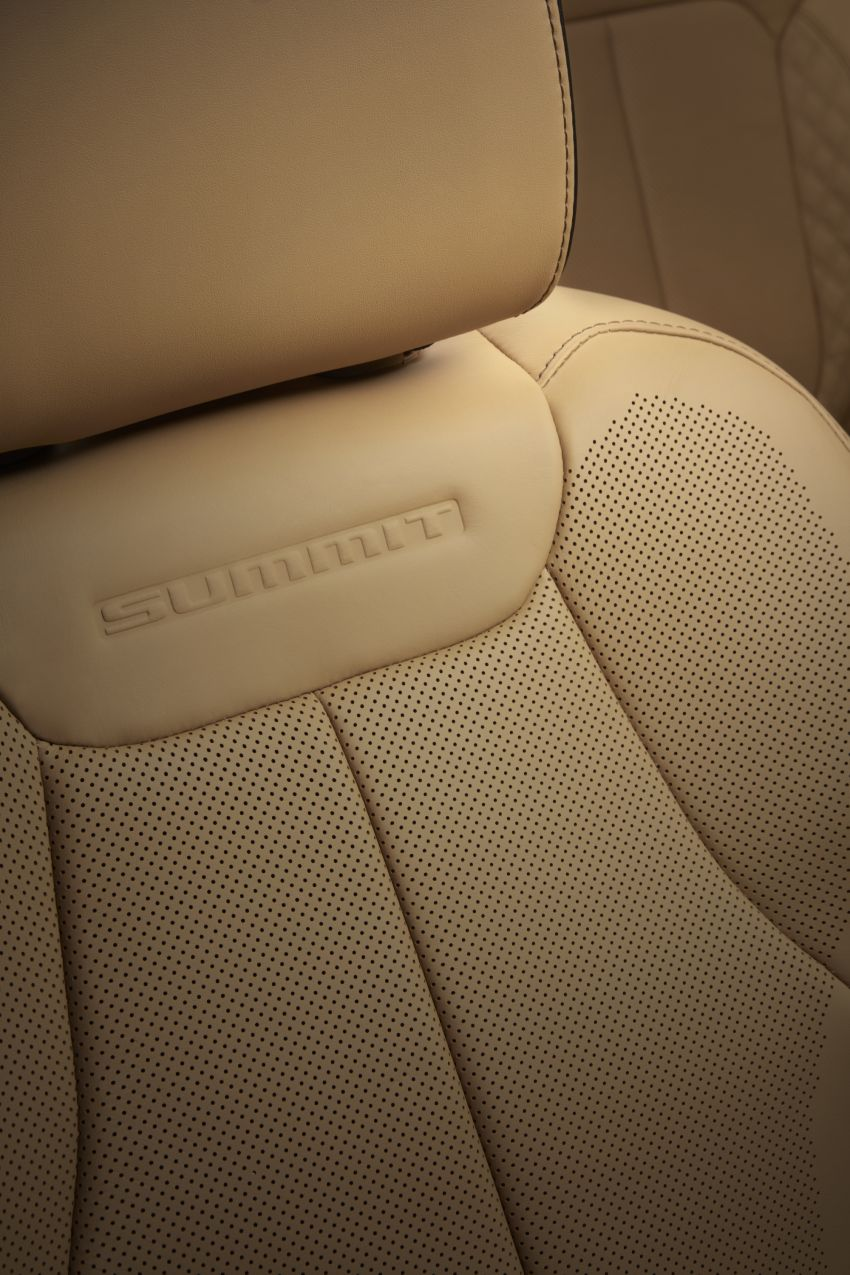 Fifth-generation Jeep Grand Cherokee – L version brings three rows of seats; 4xe PHEV due end 2021 Image #1232639