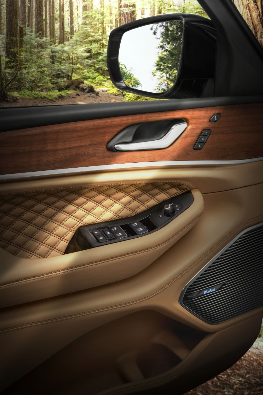 Fifth-generation Jeep Grand Cherokee – L version brings three rows of seats; 4xe PHEV due end 2021 Image #1232642
