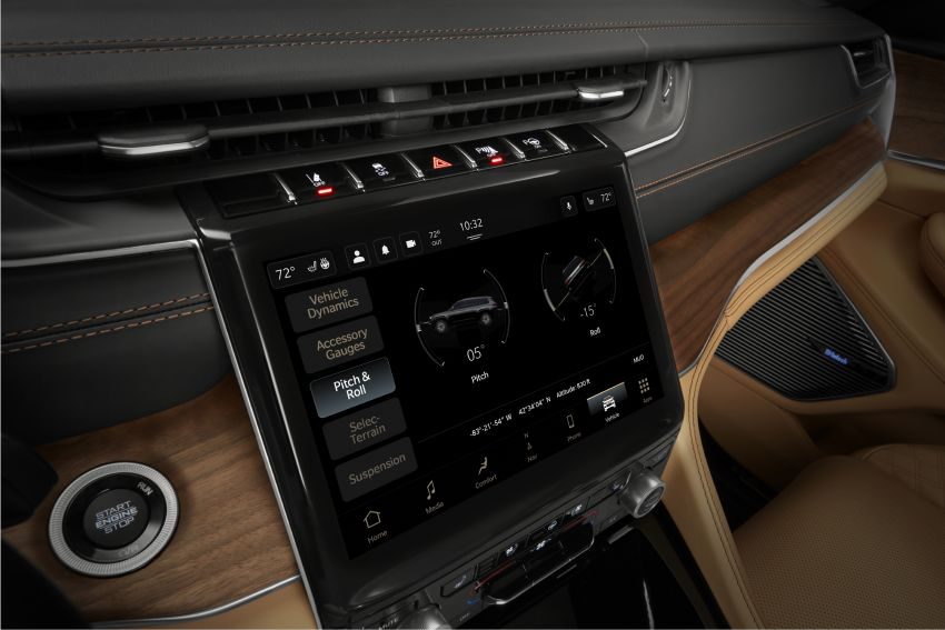 Fifth-generation Jeep Grand Cherokee – L version brings three rows of seats; 4xe PHEV due end 2021 Image #1232651