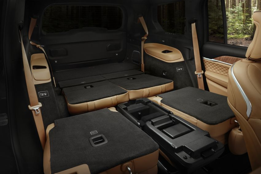 Fifth-generation Jeep Grand Cherokee – L version brings three rows of seats; 4xe PHEV due end 2021 Image #1232652