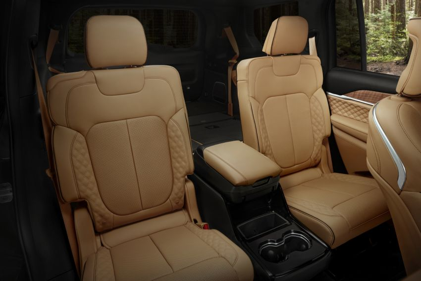 Fifth-generation Jeep Grand Cherokee – L version brings three rows of seats; 4xe PHEV due end 2021 Image #1232653