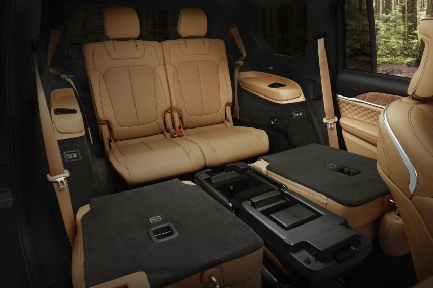 Fifth-generation Jeep Grand Cherokee – L version brings three rows of seats; 4xe PHEV due end 2021 Image #1232654