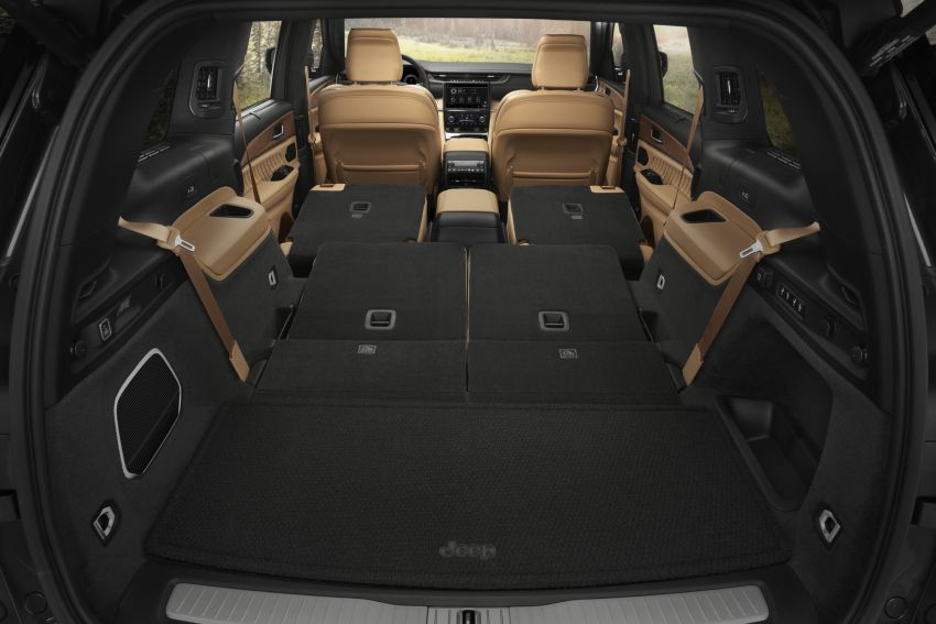 Fifth-generation Jeep Grand Cherokee – L version brings three rows of seats; 4xe PHEV due end 2021 Image #1232655