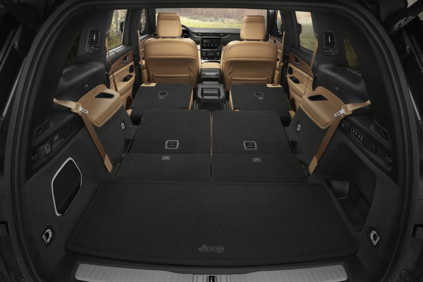 Fifth-generation Jeep Grand Cherokee – L version brings three rows of seats; 4xe PHEV due end 2021 Image #1232656