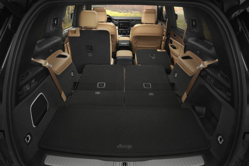 Fifth-generation Jeep Grand Cherokee – L version brings three rows of seats; 4xe PHEV due end 2021 Image #1232657