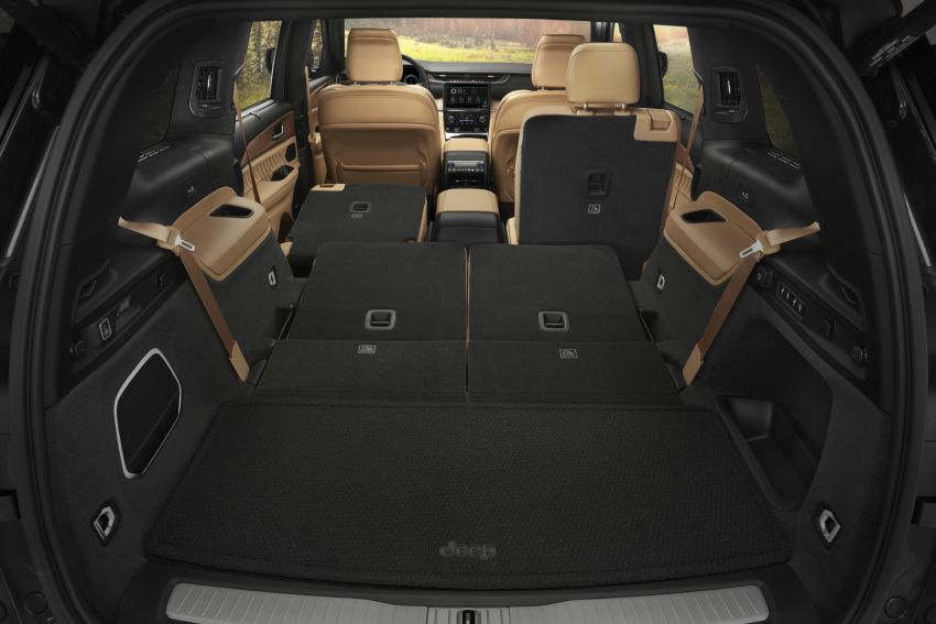 Fifth-generation Jeep Grand Cherokee – L version brings three rows of seats; 4xe PHEV due end 2021 Image #1232658
