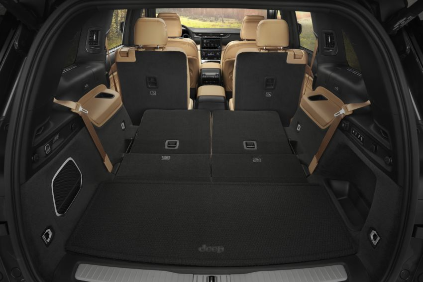 Fifth-generation Jeep Grand Cherokee – L version brings three rows of seats; 4xe PHEV due end 2021 Image #1232659
