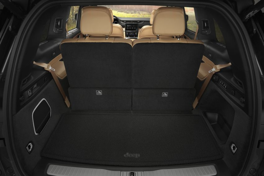 Fifth-generation Jeep Grand Cherokee – L version brings three rows of seats; 4xe PHEV due end 2021 Image #1232660