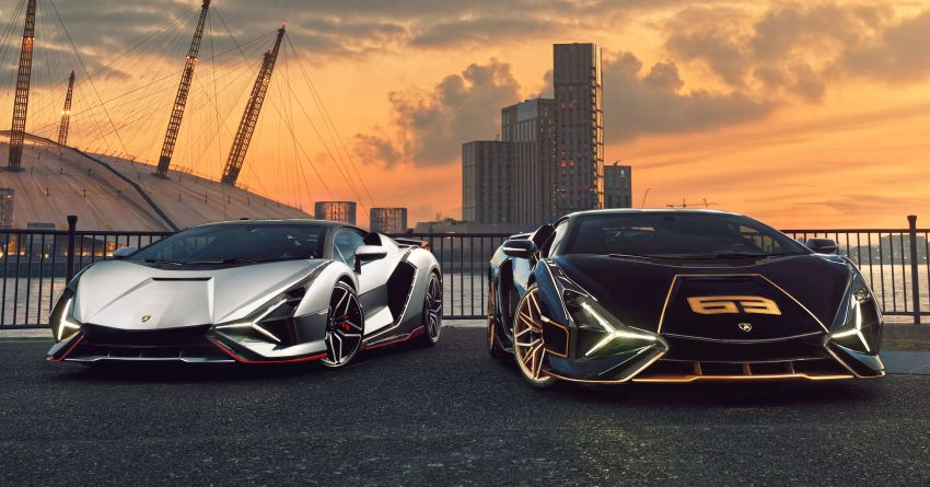 2021 Lamborghini Sian – hot new pair lands in London Image #1240926