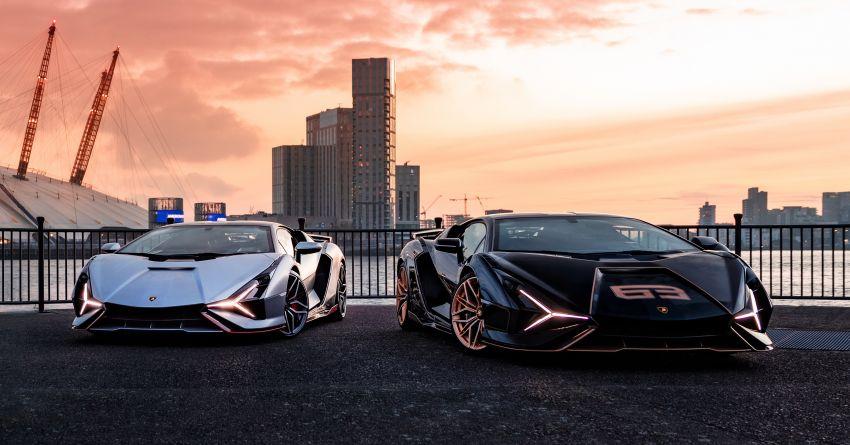2021 Lamborghini Sian – hot new pair lands in London Image #1240932