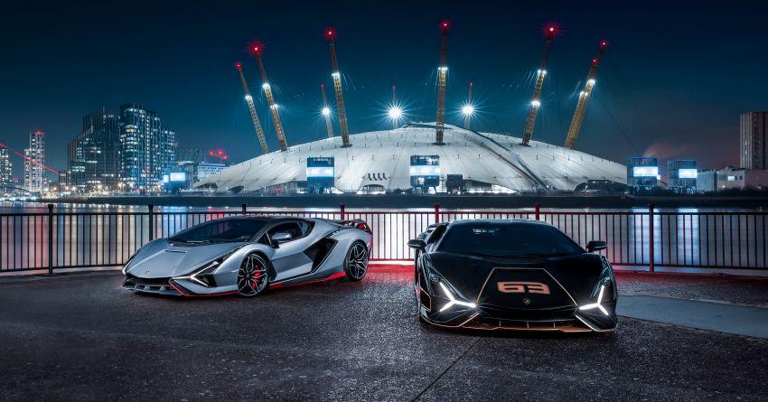 2021 Lamborghini Sian – hot new pair lands in London Image #1240939