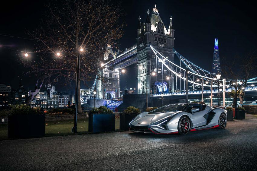 2021 Lamborghini Sian – hot new pair lands in London Image #1240944