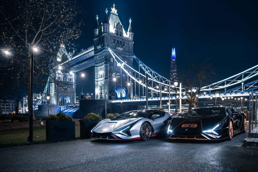 2021 Lamborghini Sian – hot new pair lands in London Image #1240948