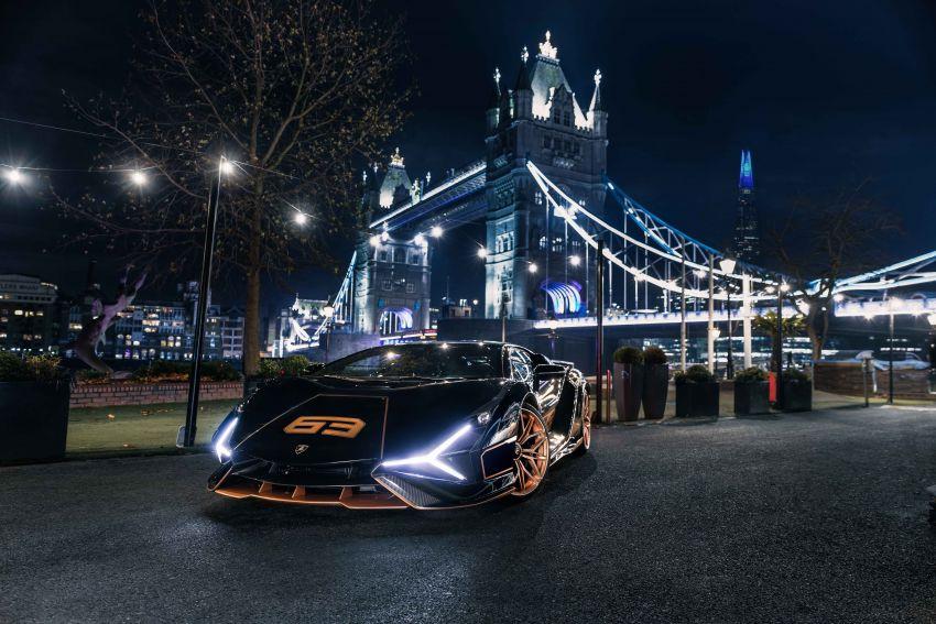 2021 Lamborghini Sian – hot new pair lands in London Image #1240950
