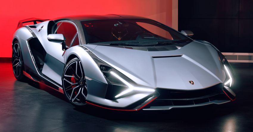2021 Lamborghini Sian – hot new pair lands in London Image #1240951