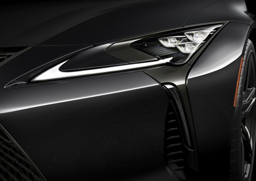 2021 Lexus LC 500 Inspiration Series: Aviation for US Image #1234423