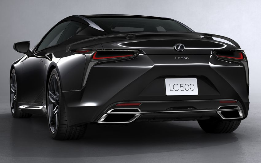2021 Lexus LC 500 Inspiration Series: Aviation for US Image #1234424