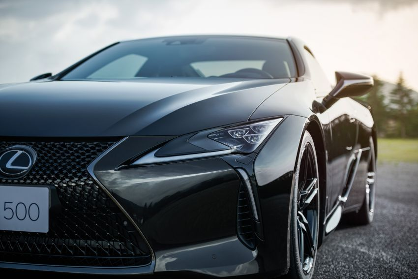 2021 Lexus LC 500 Inspiration Series: Aviation for US Image #1234430