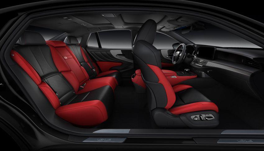 2021 Lexus LS 500 facelift in Australia – from RM613k Image #1238286