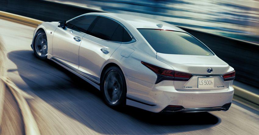 2021 Lexus LS 500 facelift in Australia – from RM613k Image #1238267