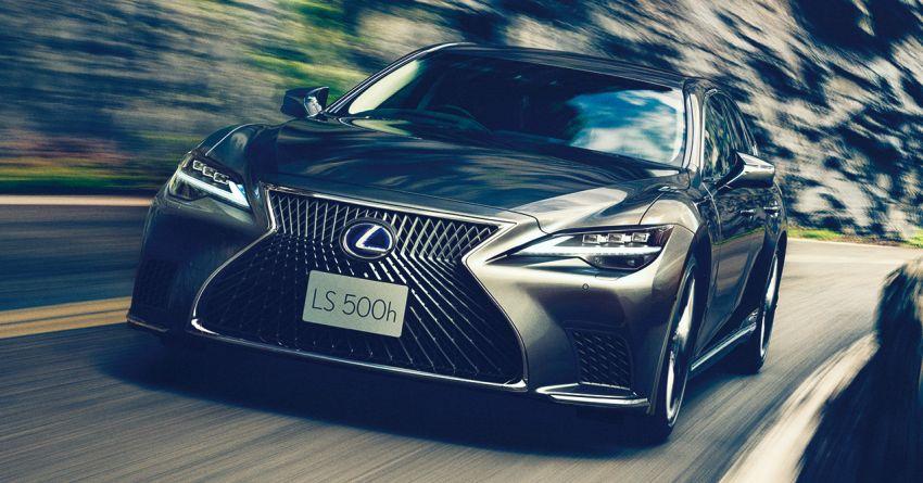 2021 Lexus LS 500 facelift in Australia – from RM613k Image #1238268