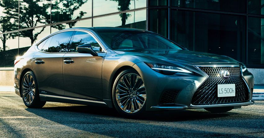 2021 Lexus LS 500 facelift in Australia – from RM613k Image #1238271
