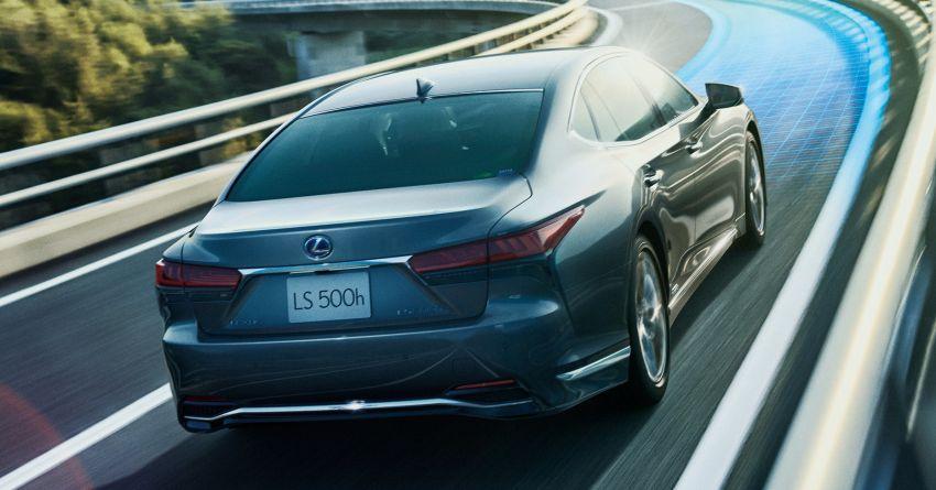 2021 Lexus LS 500 facelift in Australia – from RM613k Image #1238272