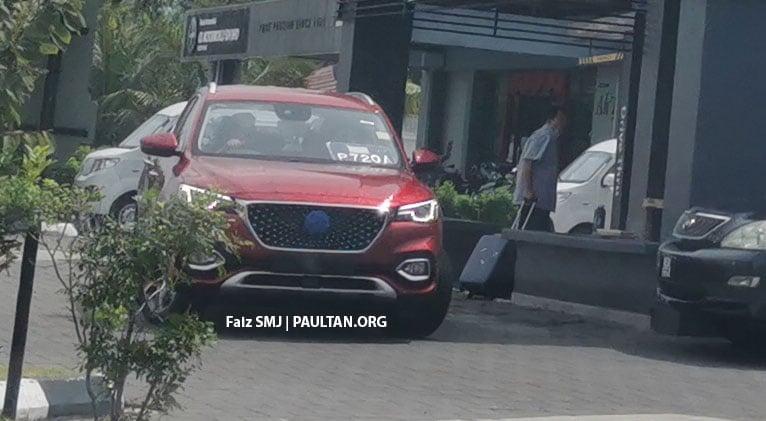 SPYSHOTS: MG HS SUV spotted in Juru, Malaysia Image #1233640