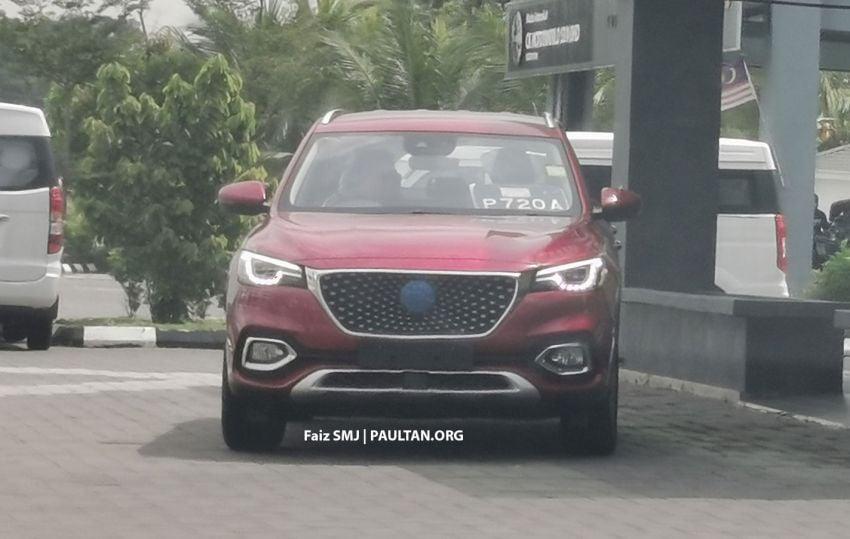 SPYSHOTS: MG HS SUV spotted in Juru, Malaysia Image #1233639