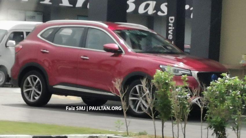SPYSHOTS: MG HS SUV spotted in Juru, Malaysia Image #1233638