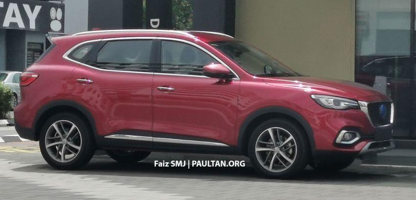 SPYSHOTS: MG HS SUV spotted in Juru, Malaysia Image #1233637
