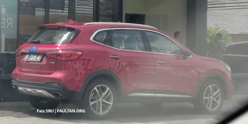 SPYSHOTS: MG HS SUV spotted in Juru, Malaysia Image #1233636