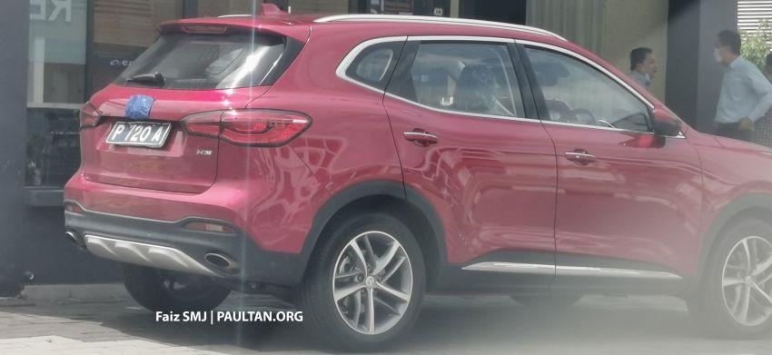 SPYSHOTS: MG HS SUV spotted in Juru, Malaysia Image #1233635