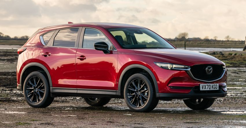 2021 Mazda CX-5 launched in the UK – petrol mills with cylinder deactivation, 10.25″ display; new Kuro Edition Image #1240650