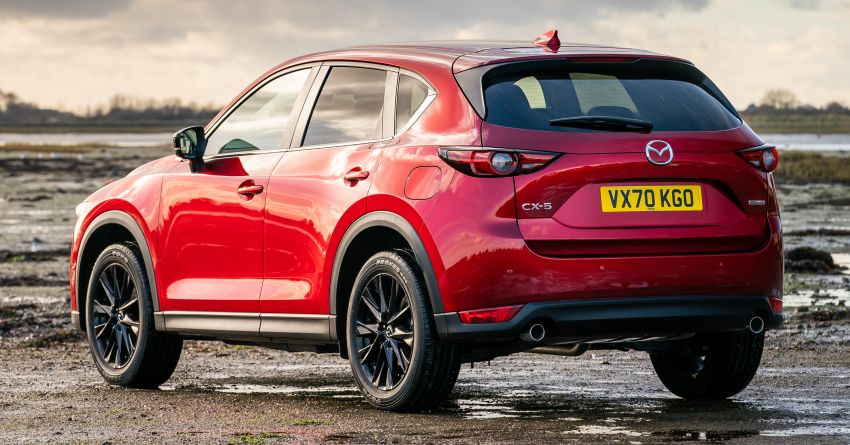 2021 Mazda CX-5 launched in the UK – petrol mills with cylinder deactivation, 10.25″ display; new Kuro Edition Image #1240654