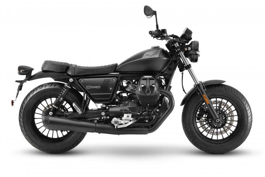 2021 Moto Guzzi V9 Roamer and V9 Bobber updated Image #1234805
