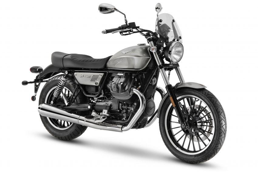 2021 Moto Guzzi V9 Roamer and V9 Bobber updated Image #1234808