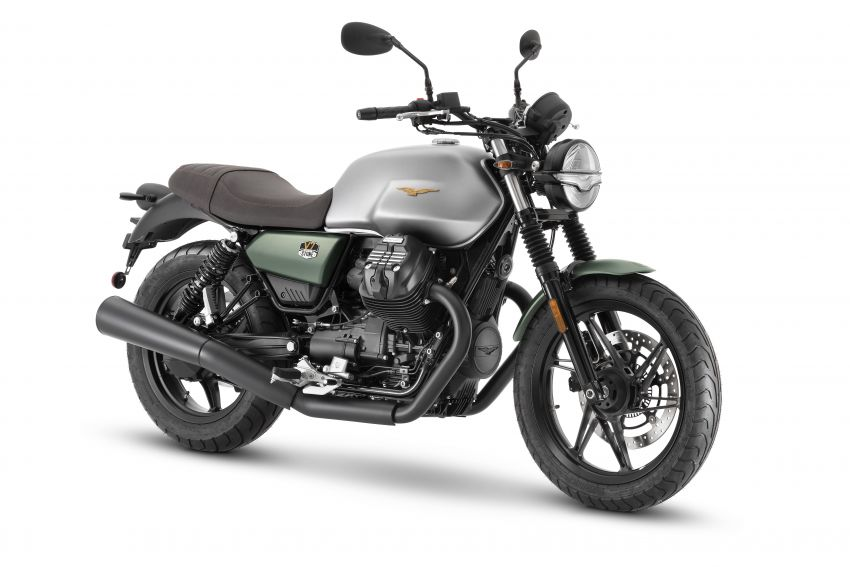 Moto Guzzi celebrates 100th anniversary in 2021  – Moto Guzzi V7, V9 and V85TT in centennial livery Image #1238291