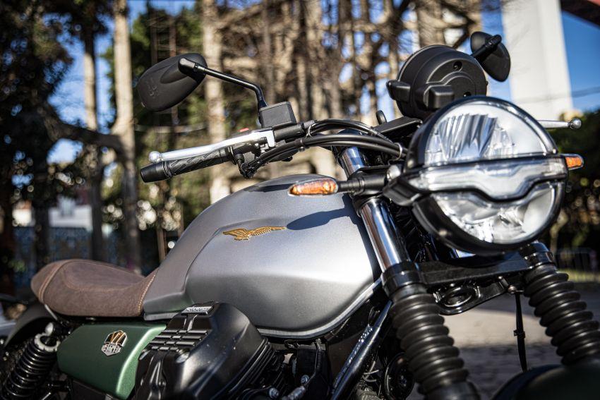 Moto Guzzi celebrates 100th anniversary in 2021  – Moto Guzzi V7, V9 and V85TT in centennial livery Image #1238308