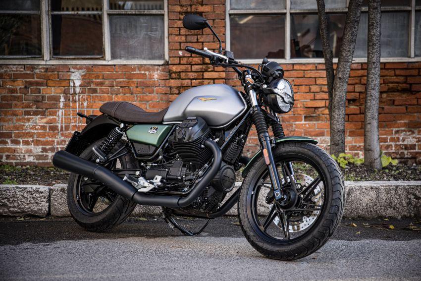 Moto Guzzi celebrates 100th anniversary in 2021  – Moto Guzzi V7, V9 and V85TT in centennial livery Image #1238310