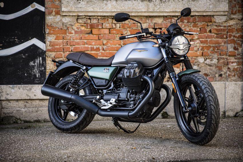 Moto Guzzi celebrates 100th anniversary in 2021  – Moto Guzzi V7, V9 and V85TT in centennial livery Image #1238314